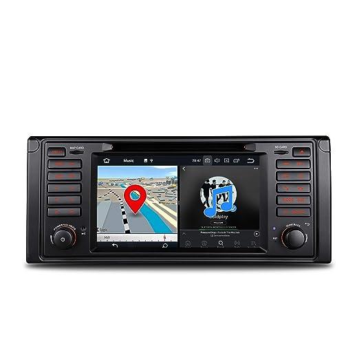 ... Stereo Reproductor de DVD Octa Core 4 G RAM 32 G ROM HD Digital pantalla táctil Radio OBD2 DVR vigilancia de la presión de los neumáticos para BMW E39 ...