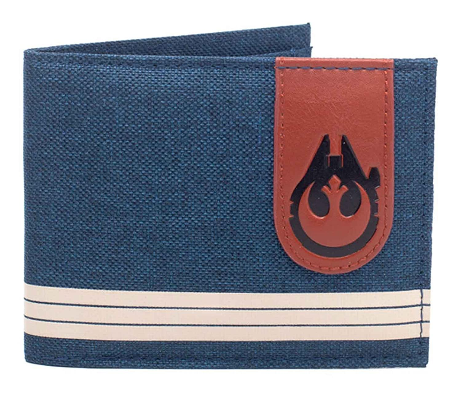 Star Wars Cartera Logotipo de Falcon (Talla única), Color Azul: Amazon.es: Electrónica