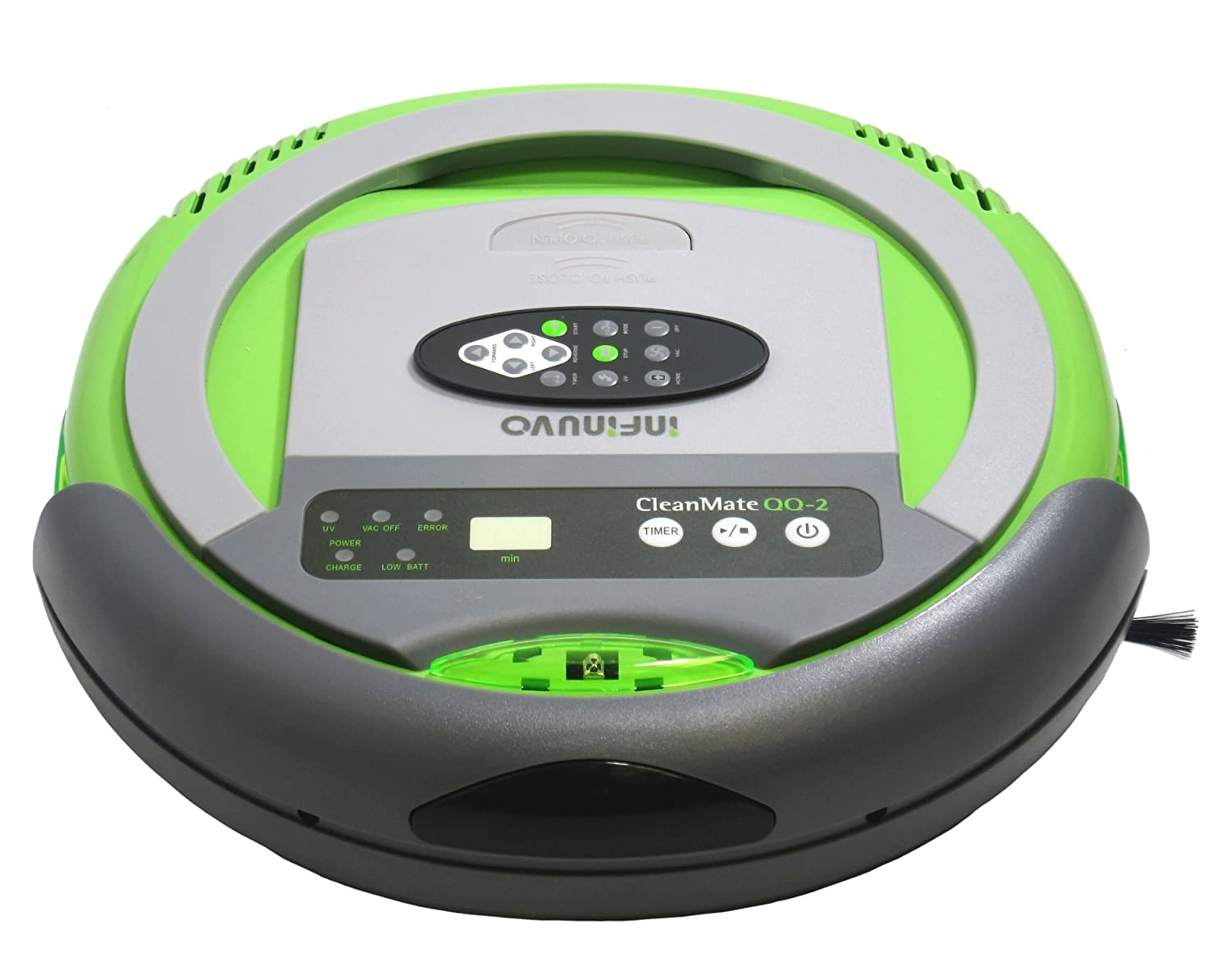 Amazon.com: Infinuvo Cleanmate Robotic Vacuum Cleaner - Model QQ-2 Green: Health & Personal Care