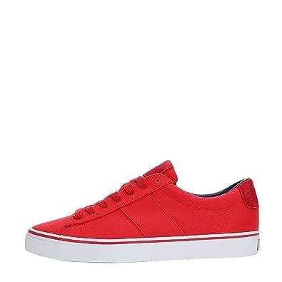 e84c09ae3c1 Polo Ralph Lauren Sayer-NE-SK-VLC Sneakers Men RED 40  Amazon.co.uk ...