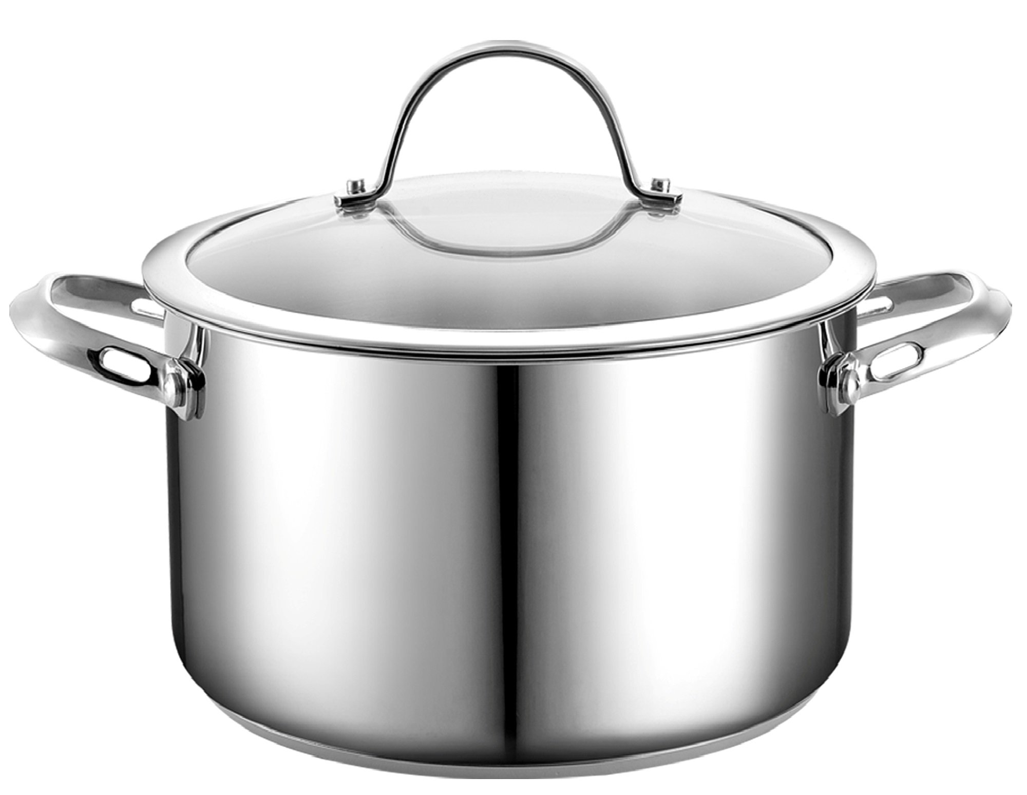 Cooks Standard 6-Quart Stainless Steel Stockpot with Lid by Cooks Standard (Image #5)