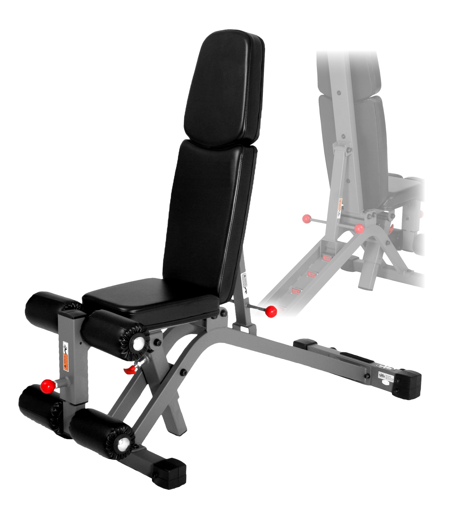 XMark FID Ab Combo Weight Bench XM-7628 by XMark Fitness