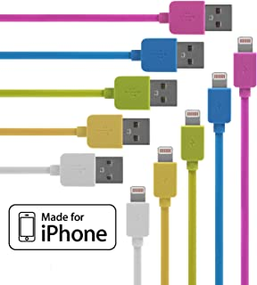 71Uzty8ih8L._AC_UL320_SR290320_ amazon com lightning cable for iphone 5 pack braided (3 3 feet  at cos-gaming.co