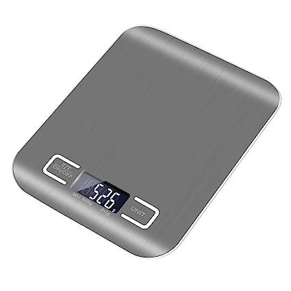 Báscula de cocina digital, deepow Digital Báscula de cocina, Electro – Báscula electrónica/