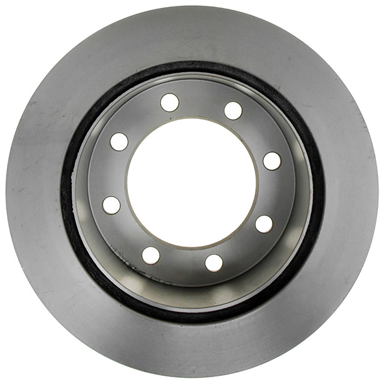 ACDelco 18A933AC Advantage Coated Rear Disc Brake Rotor