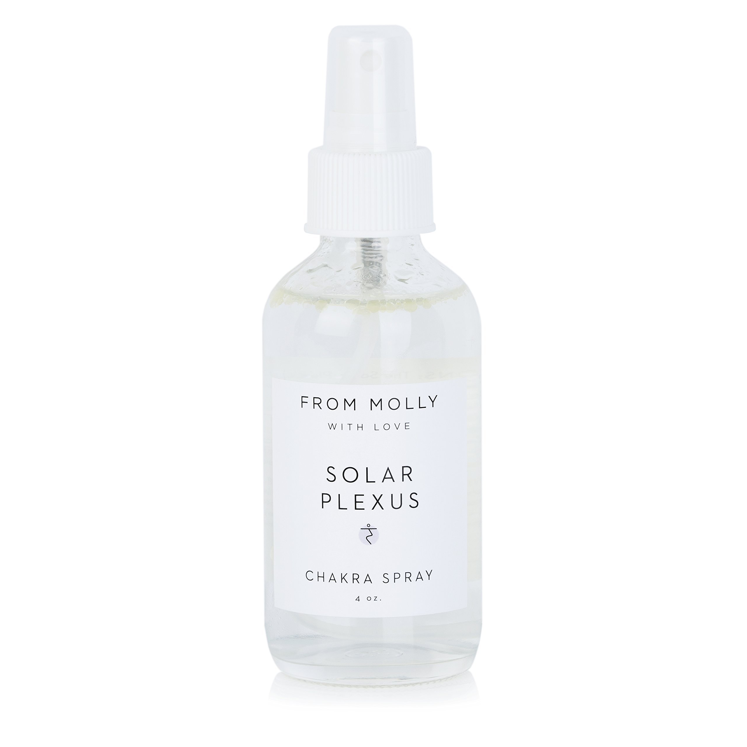 SOLAR PLEXUS CHAKRA Spray - Balancing Body Mist & Aromatherapy Spray, 100% organic essential oils (4 oz)