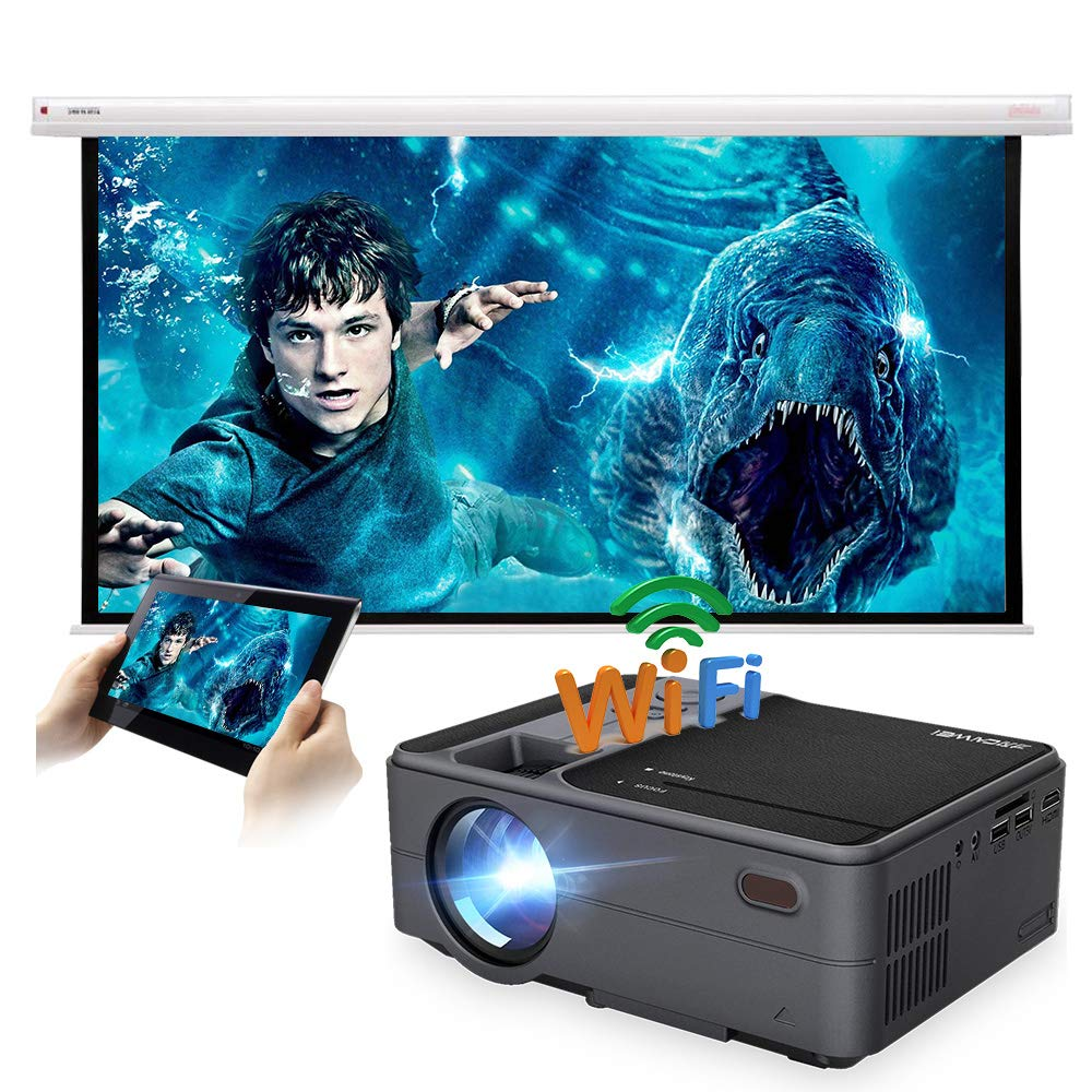 Amazon.com: Mini Portable Pico PMini Projector 3200 lumens ...