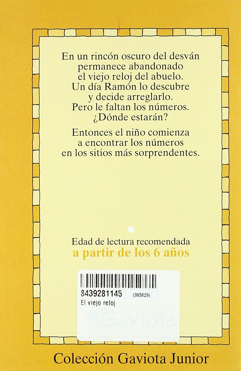 El Viejo Reloj/the Old Clock (Spanish Edition): Fernando Alonso: 9788439281146: Amazon.com: Books
