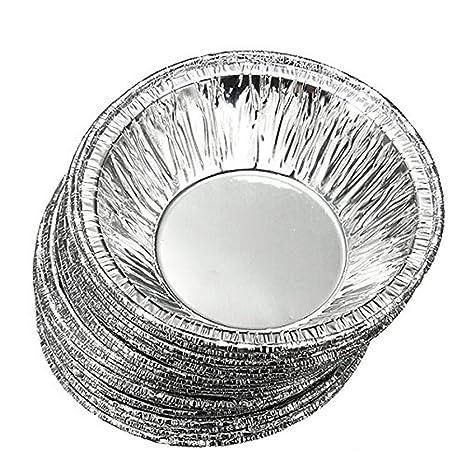 250 pcs desechables cocina hornear circulares huevo Tarta latas Pastel Tazas tazas de fabricantes de molde