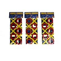 Perpetual Bliss (Pack of 6) Criss Cross Game for Kids / Return Gift for Kids Birthday Party