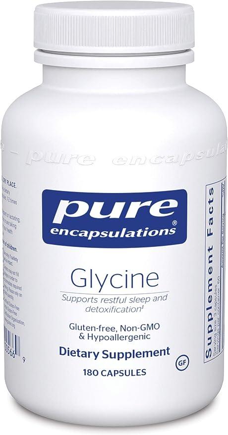 Pure Encapsulations Glycine Hypoallergenic Supplement