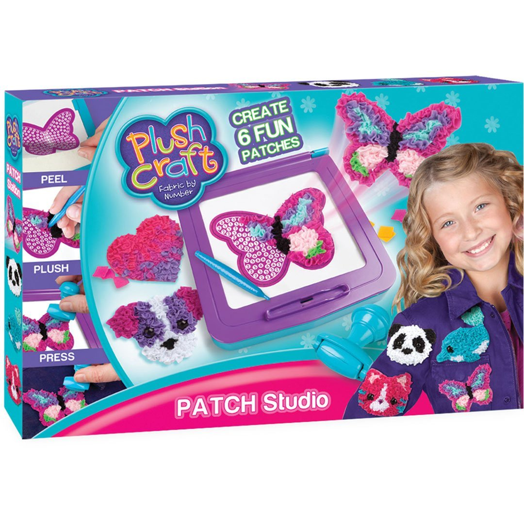 Orb Factory 621436 – Plush Craft Patch Station Pegatinas, Peluche 74852