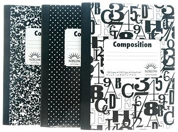 Large ligné noir et blanc composition ordinateurs portables un de