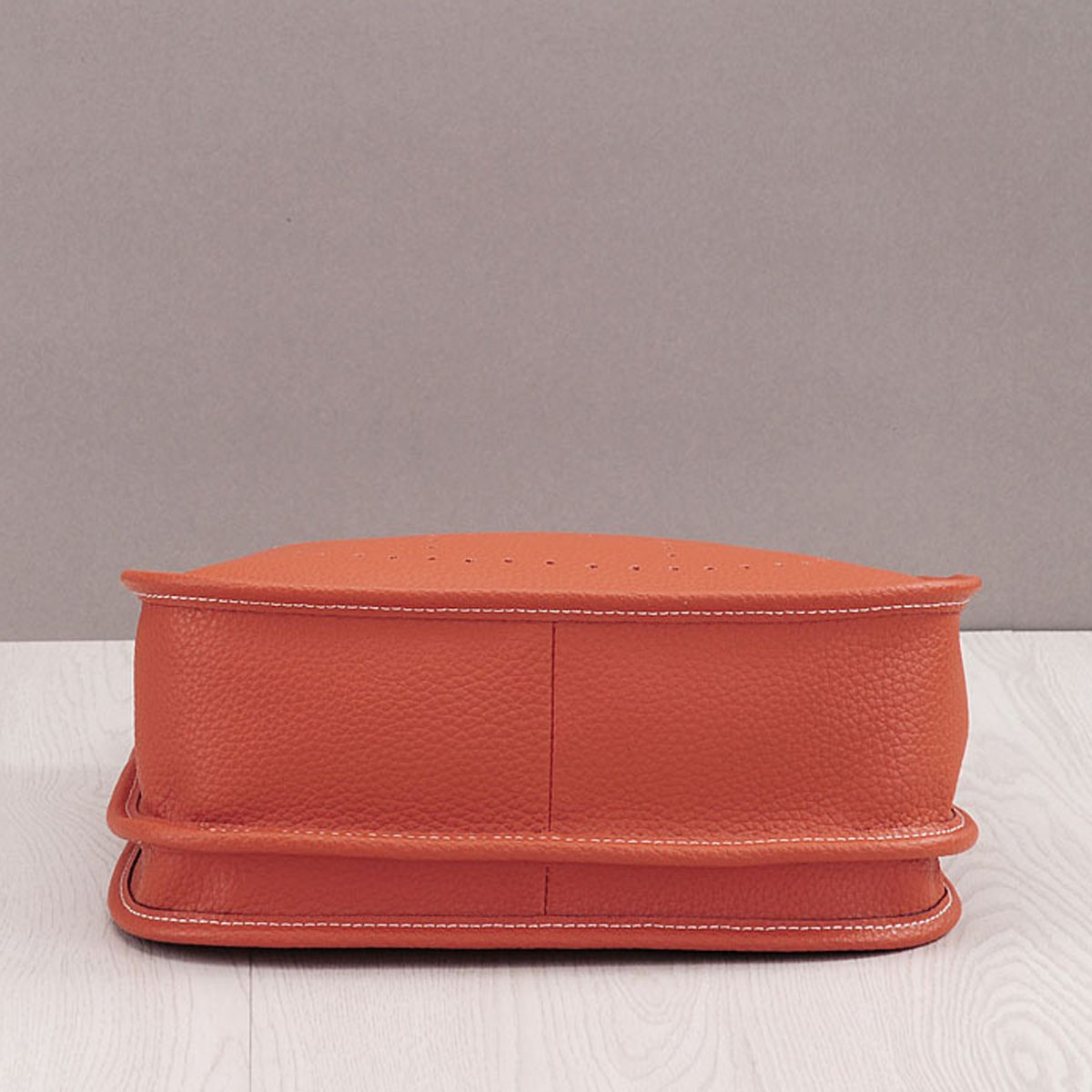 2019 Damen Litchi Leder Schultertasche Mode Eimer Tasche Messenger Bag beil/äufige Tasche 28 * 29 * 10cm, Beige