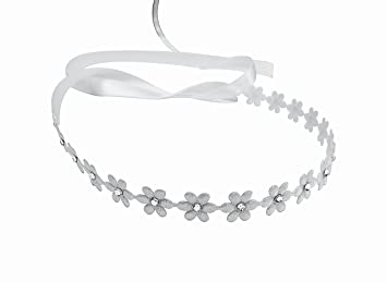 Amazon flower headband with swarovski crystals baby girls flower headband with swarovski crystals baby girls photography toddlers flower girls mightylinksfo