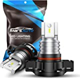 Marsauto 5202 LED Fog Light Bulbs 5201 PS19W LED Fog Lamps for DRL or Fog Lights Xenon White Extremely Bright 6000K…