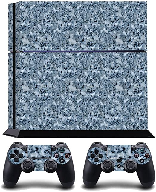 Blue Marble Print PS4 PlayStation 4 Vinyl Wrap / Skin / Cover ...