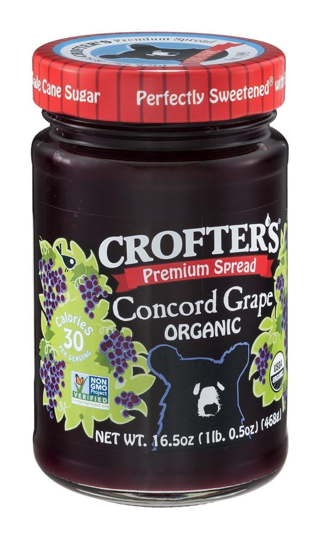 Crofters Organic Premium Concord Grape Spread, 16,5 onzas ...