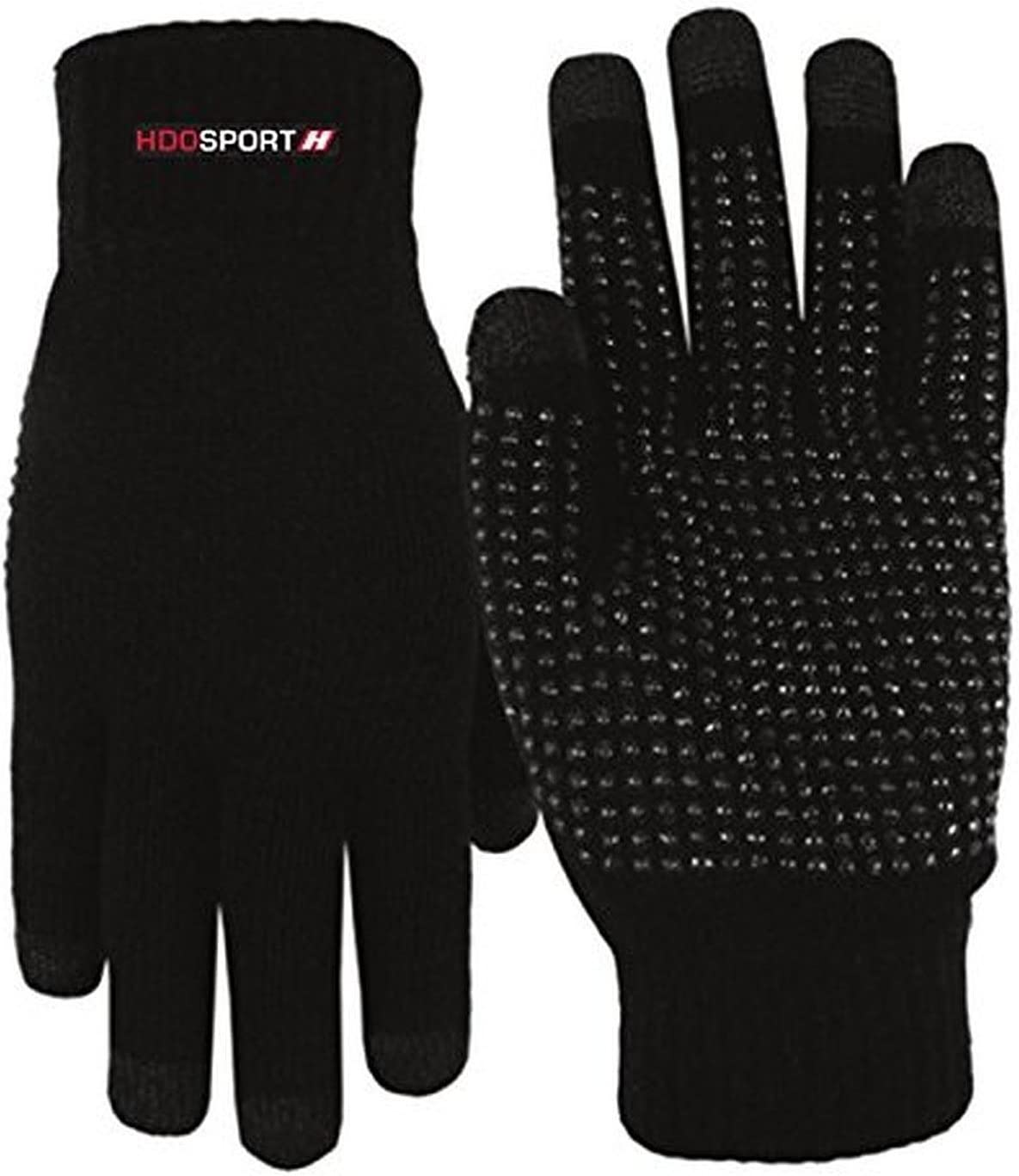 Black Diamond Crampon Bag and HDO Lite E-tip Gloves with Grippers