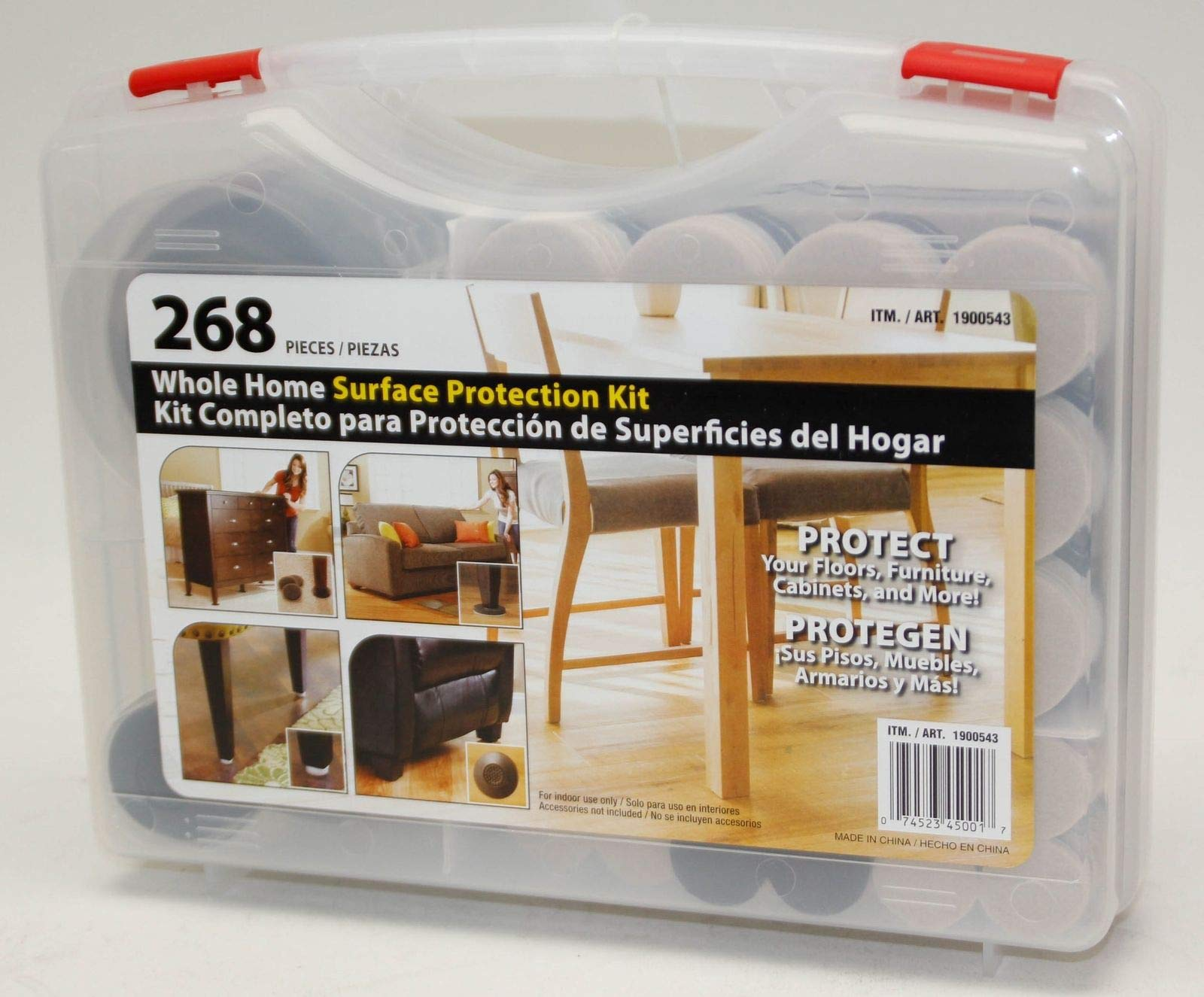 Waxman Whole Home Surface Protection Kit, 268 Pieces