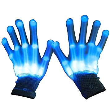 Amazon Com Boy Toys Age 7 Toptoy Led Gloves Emazing Lights For