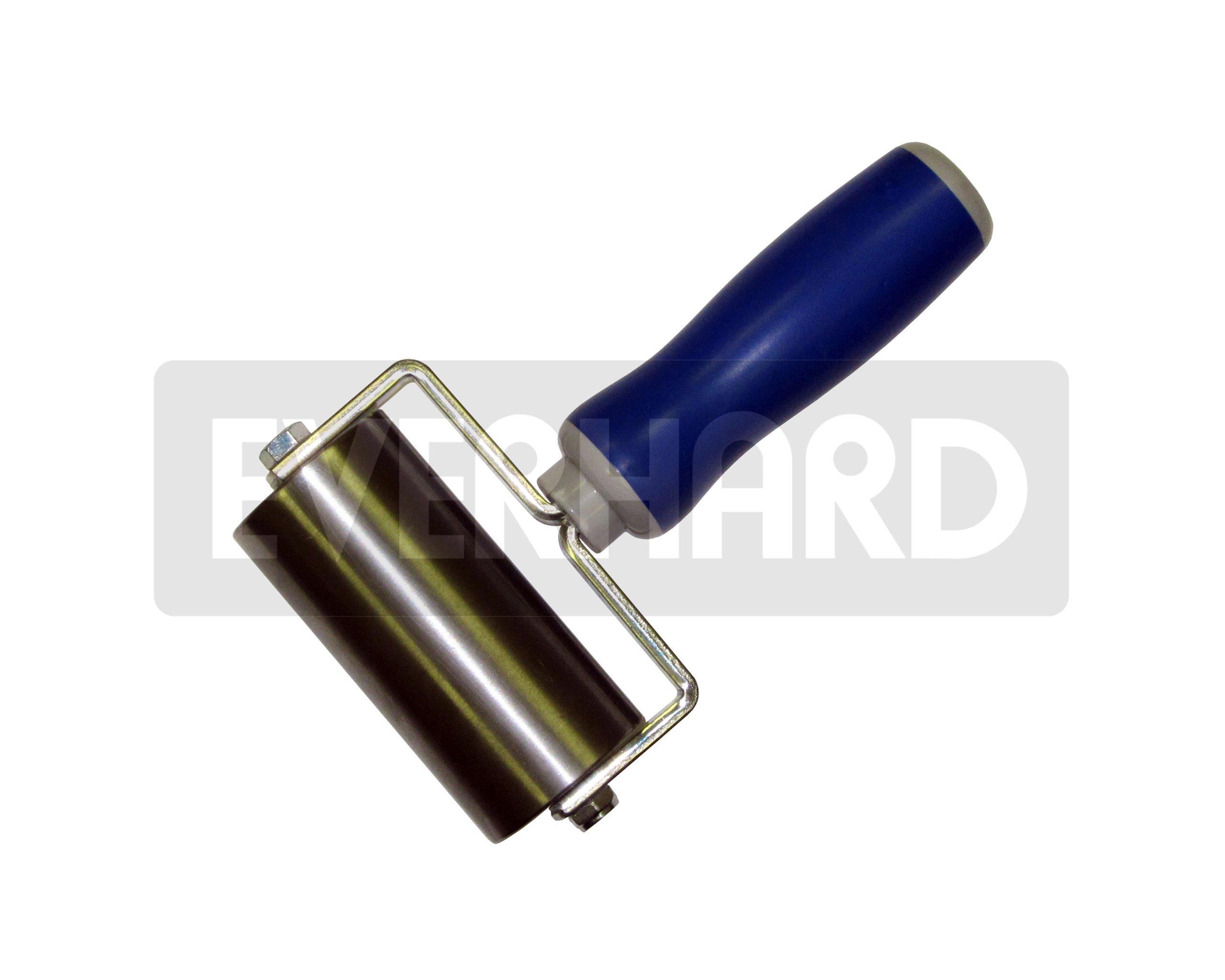 MR02090 Everhard Convertible Steel Seam Roller, 2'' dia. x 4'' wide