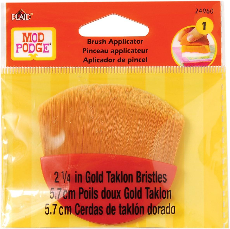 Gold Taklon Bristles 2.25-Inch Paint Brush Applicator