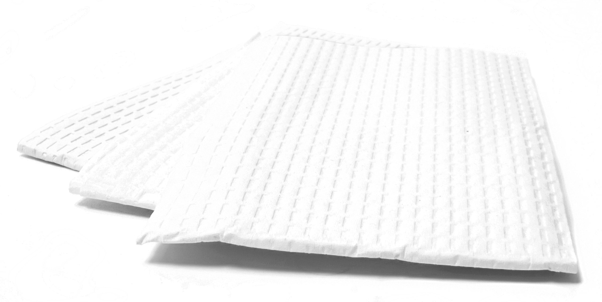 Professional Towel - 3 Ply Tissue - 13''X 18'' White 500