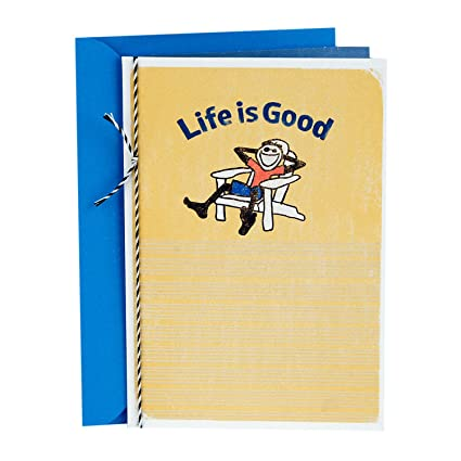 Amazon hallmark fathers day greeting card life is good keep hallmark fathers day greeting card life is good keep it simple m4hsunfo