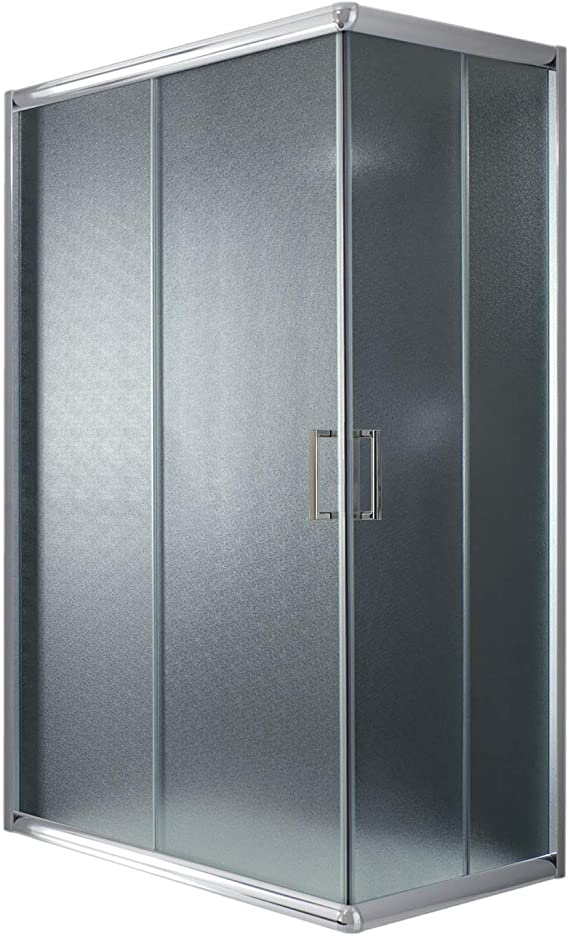 Idralite Box Mampara de Ducha Rectangular 70x120 H185 Transparente ...
