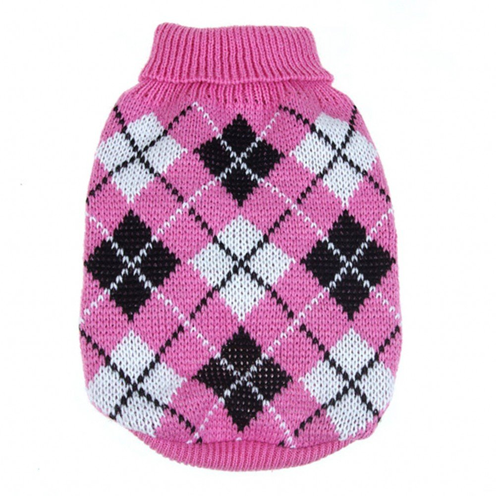 Dog Plaid Sweater