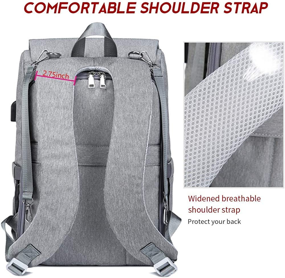 Diaper Bag Backpack for Mom /& Dad Large Capacity Maternity Baby Nappy Bags