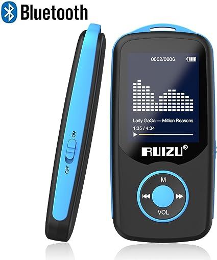 Amazon.com: RUIZU X06 Reproductor MP3 con Bluetooth ...