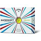 Callaway(キャロウェイ) SUPER SOFT /スーパーソフト ゴルフボール 1ダース 12個入り 並行輸入品
