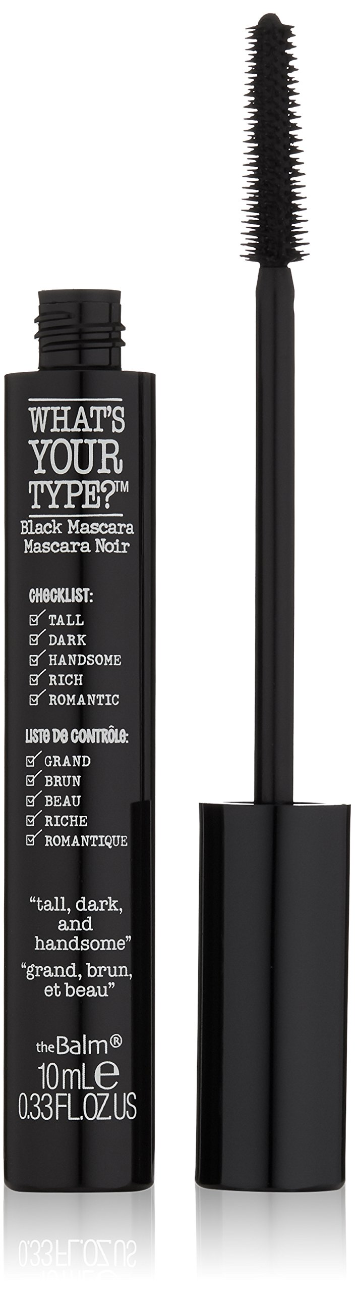 theBalm What's Your Type? Tall, Dark and Handsome Mascara, Black