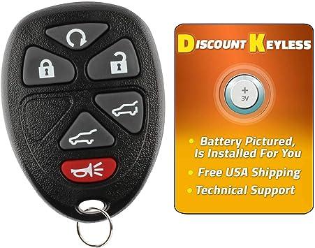 Discount Keyless Replacement Key Fob Car Entry Remote For Yukon Tahoe Silverado Suburban KOBUT1BT 15732803