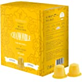 Teespresso Chamomile Nespresso Compatible Tea Capsules (Pack of 5, Total 50)