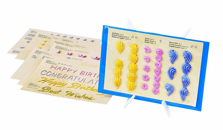 Wilton Cake Decorating Practice Sheets