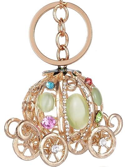 448a30f10160 Giftale Pumpkin on Car Bag Charms Keychain for Women Purse Handbag  Accessories
