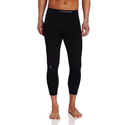 Zensah Recovery Capris - 3/4 Compression Tights for Running, Working Out, Basketball