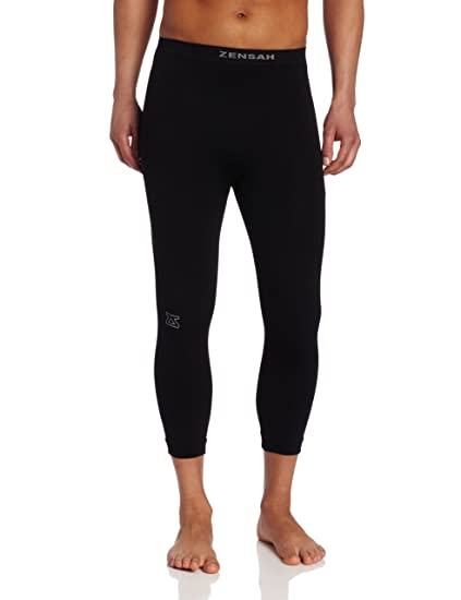 bd0659ea3735f Amazon.com : Zensah Recovery Capris - 3/4 Compression Tights for ...