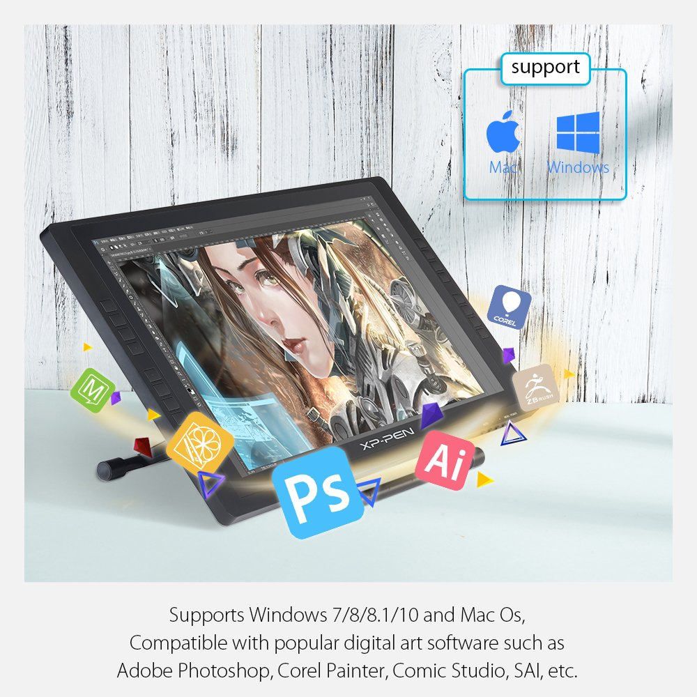 Poster design software windows 7 - Poster Design Software For Windows 8 1 Amazon Com Xp Pen Artist22e 22 Inch Display