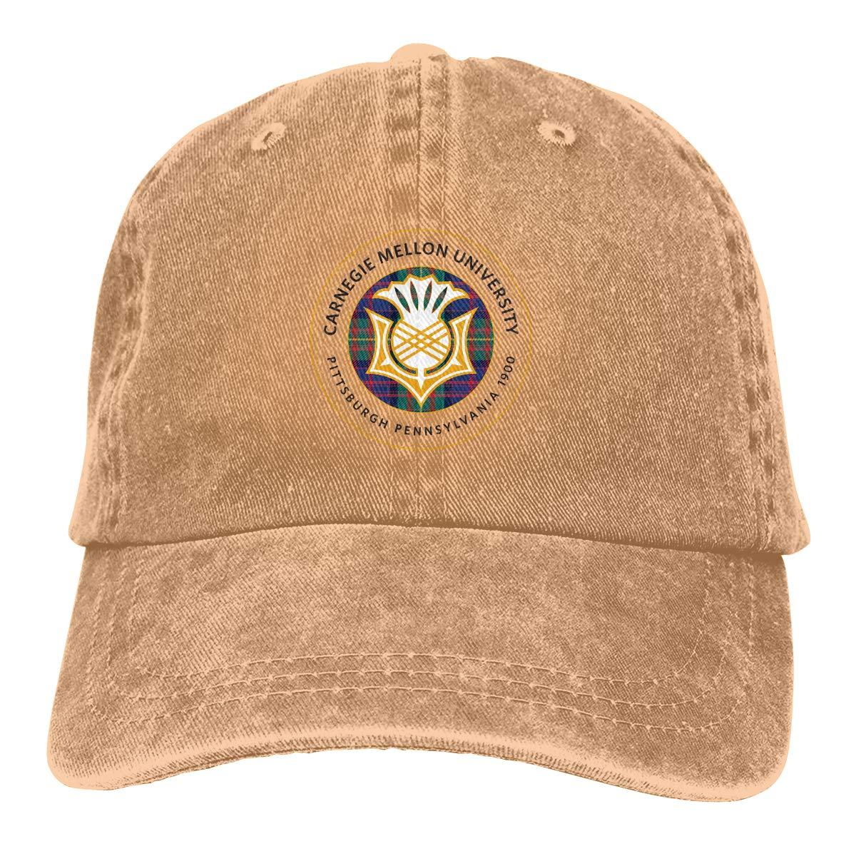 Eugrandet Carnegie Mellon University Geek Unisex Baseball Cap Twill Adjustable Hat