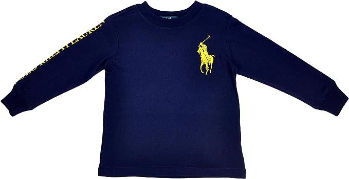 Polo Ralph Lauren - Camiseta de Manga Larga para niño, 24 ...