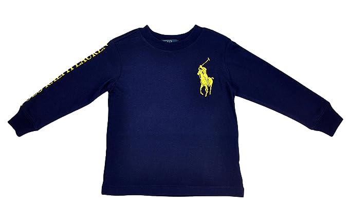 Polo Ralph Lauren - Camiseta de Manga Larga para niño, 24 Meses, 2 ...
