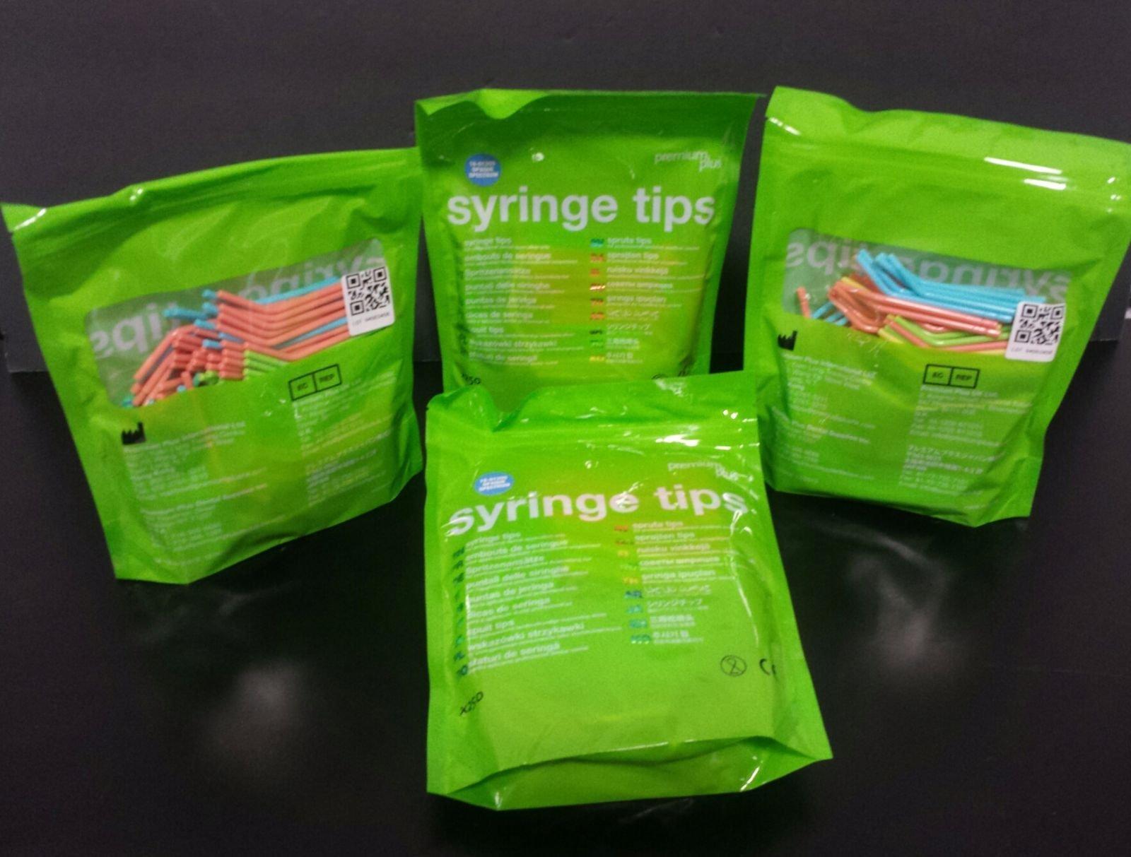 AIR/WATER SYRINGE TIP - PLASTIC, OPAQUE SPECTRUM (1000 pieces)