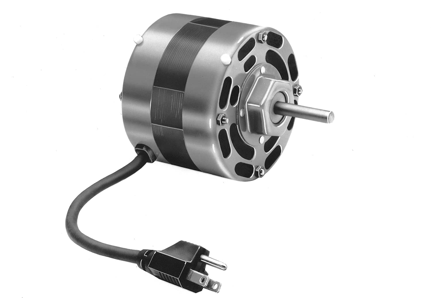 Fasco D1246 4.4-Inch Frame Open Ventilated Shaded Pole OEM Replacement Motor with  Sleeve Bearing, 1/15HP, 1550RPM, 115V, 60Hz, 2.3 Amps