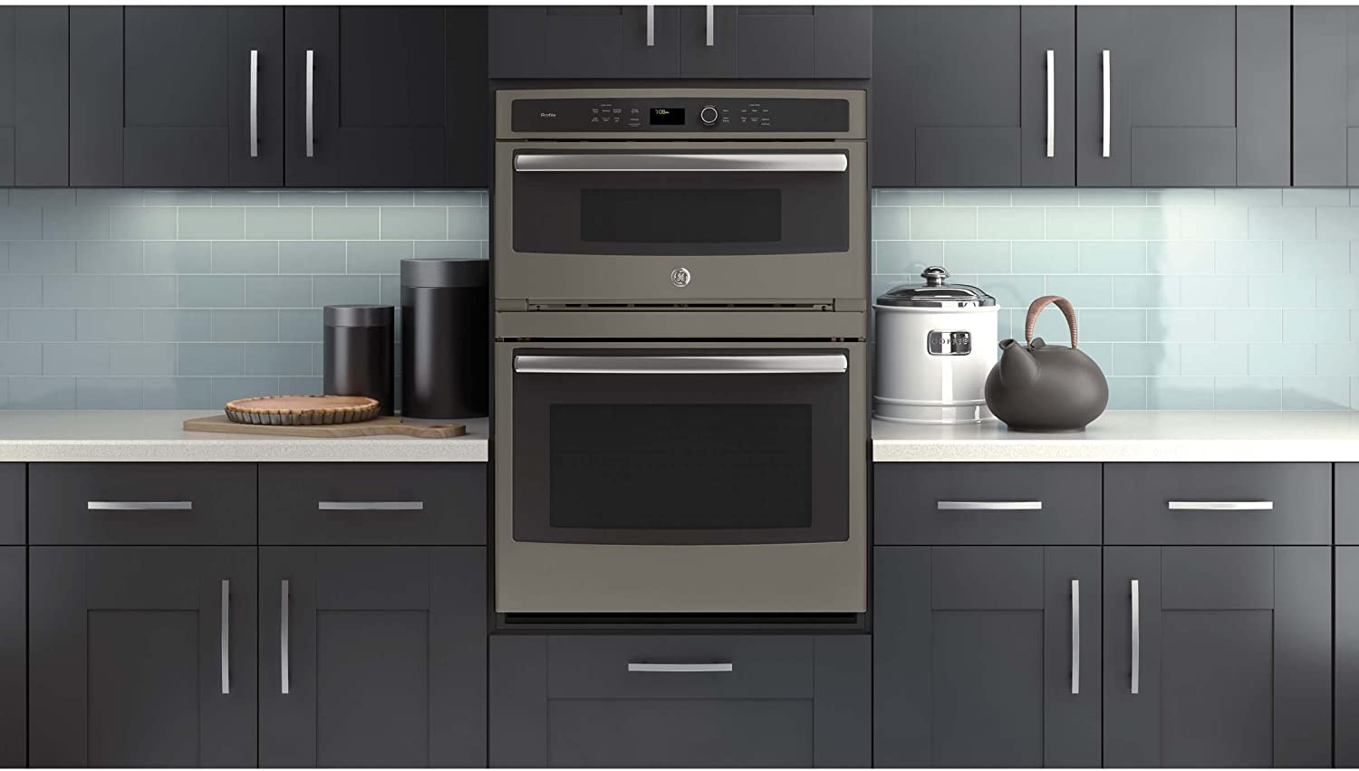 GE PT7800EKES Electric Combination Wall Oven