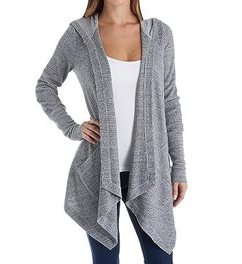 95329b741c35 Amazon.com  Splendid Women s Thermal Wrap Hooded Cardigan  Clothing