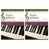 Petites pièces pour piano : Etudes, polkas, menuets et autres danses, Coffret 2 volumes